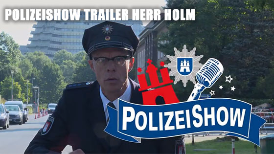 Polizeishow making of